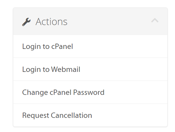 C-Panel Access from A2 Hosting
