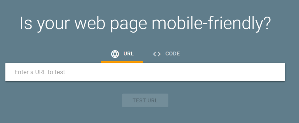 Is Your Web Page Mobile Friendly