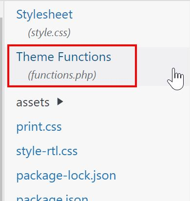 Theme Functions